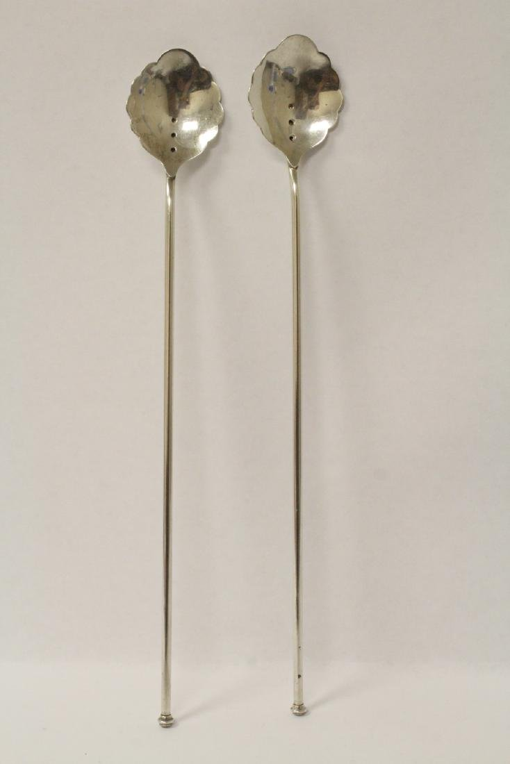 9 antique Russian spoons - 4