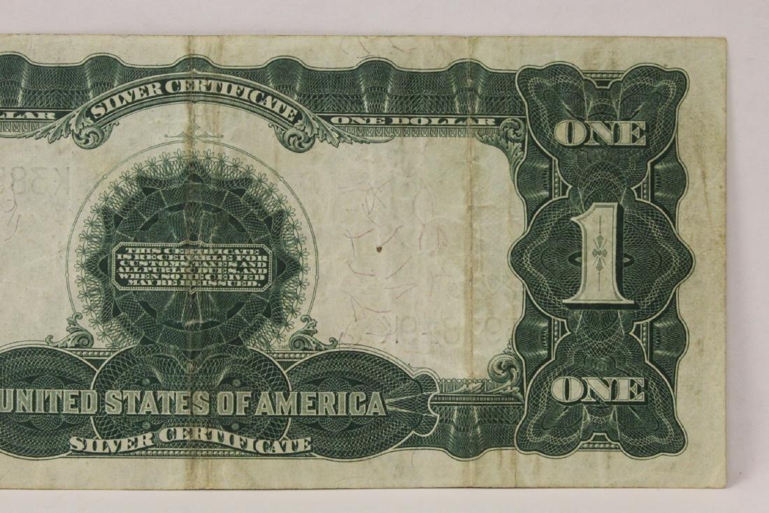 Rare 1899 one dollar silver certificate - 10
