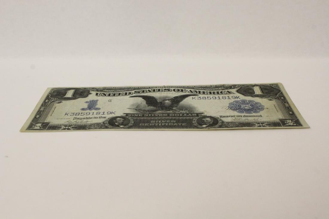 Rare 1899 one dollar silver certificate - 6