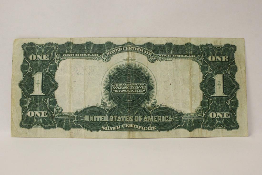 Rare 1899 one dollar silver certificate - 7