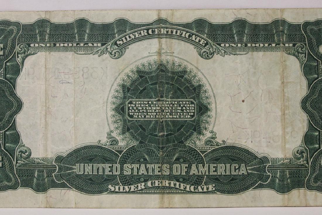 Rare 1899 one dollar silver certificate - 8