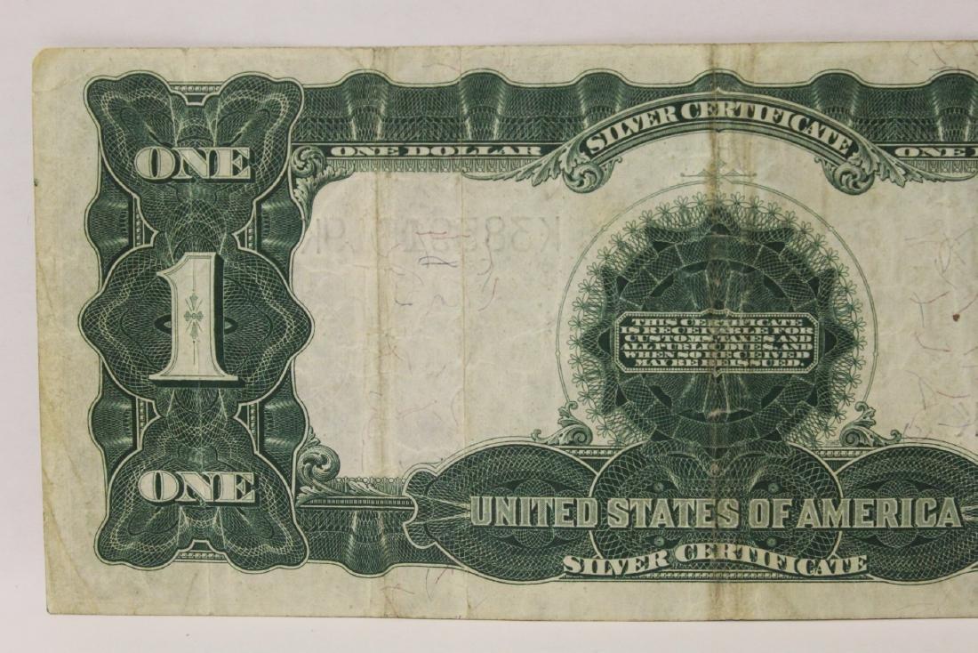 Rare 1899 one dollar silver certificate - 9