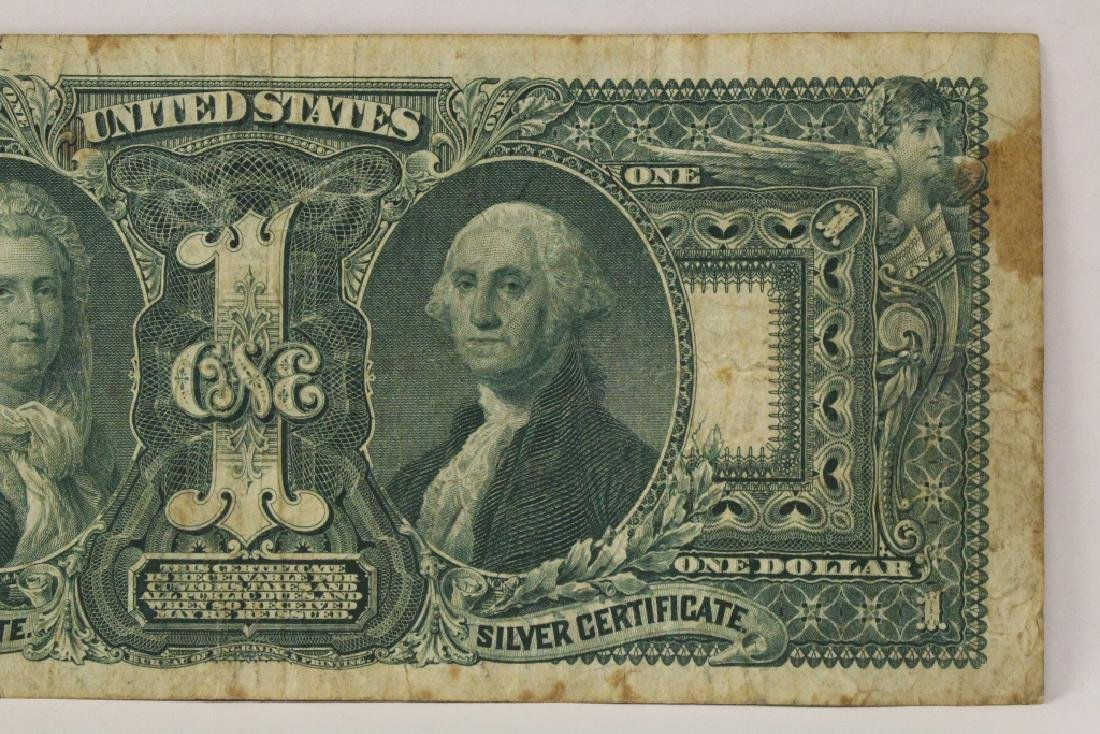 "1896 $1 silver certificate ""educational series"" - 10"