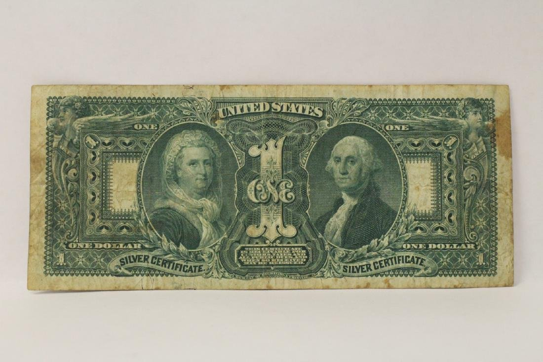 "1896 $1 silver certificate ""educational series"" - 8"