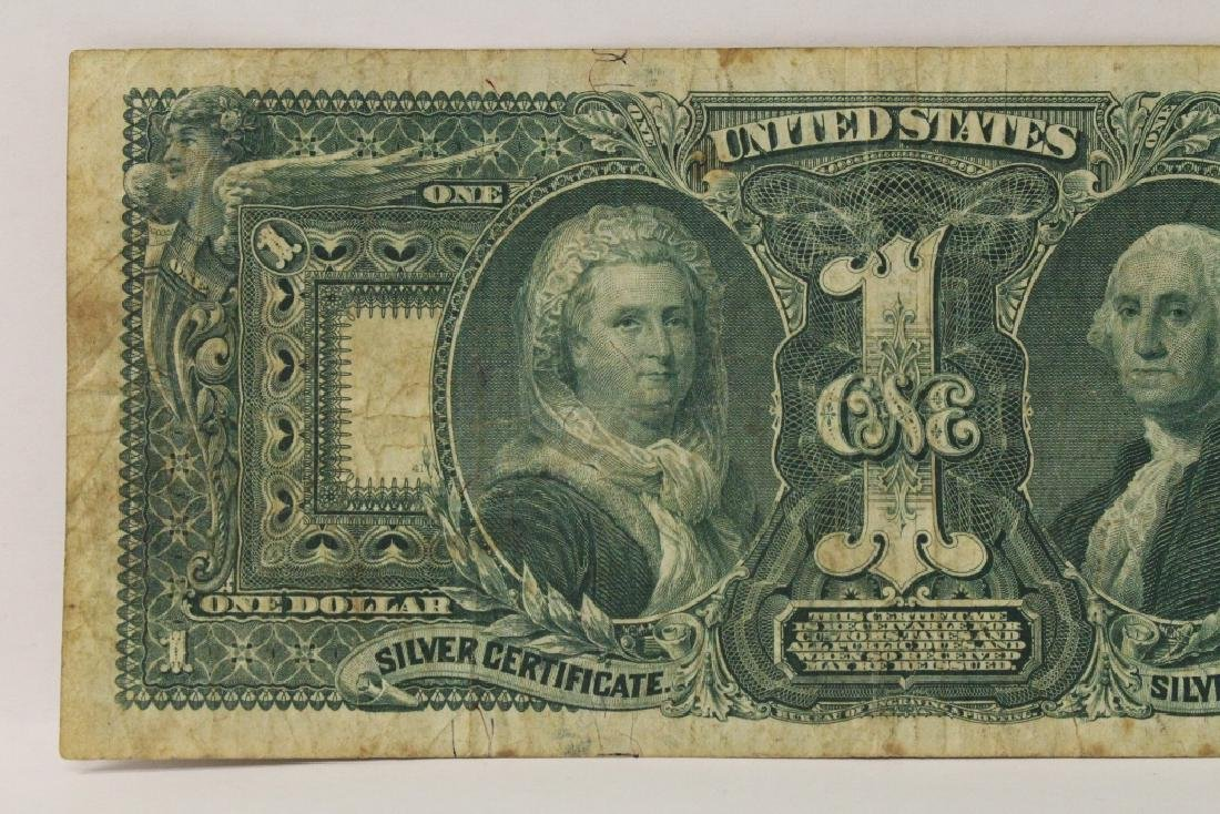 "1896 $1 silver certificate ""educational series"" - 9"