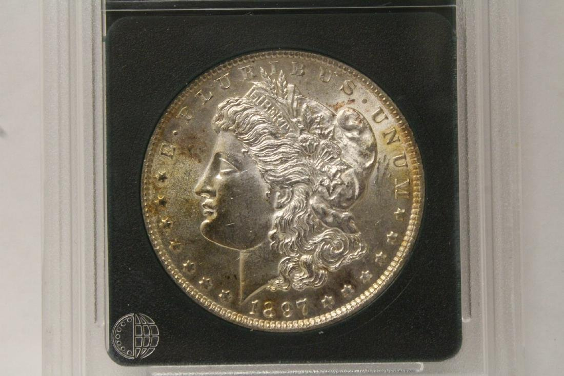 Beautiful 1897 Morgan silver dollar - 2