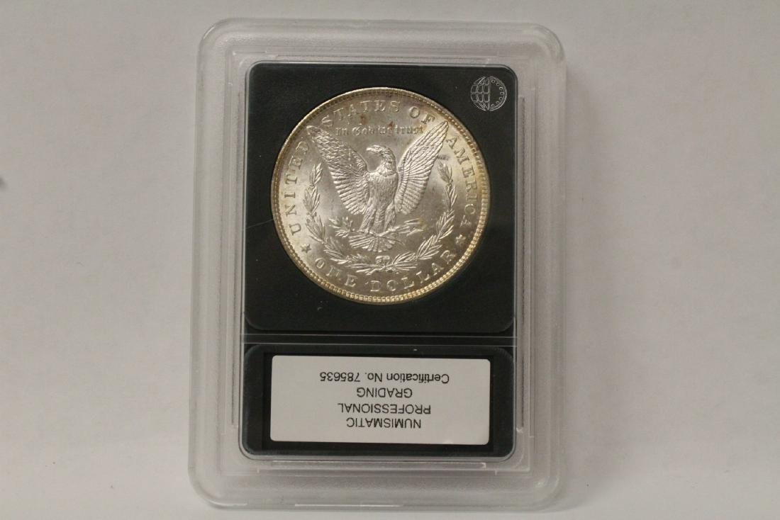 Beautiful 1897 Morgan silver dollar - 4