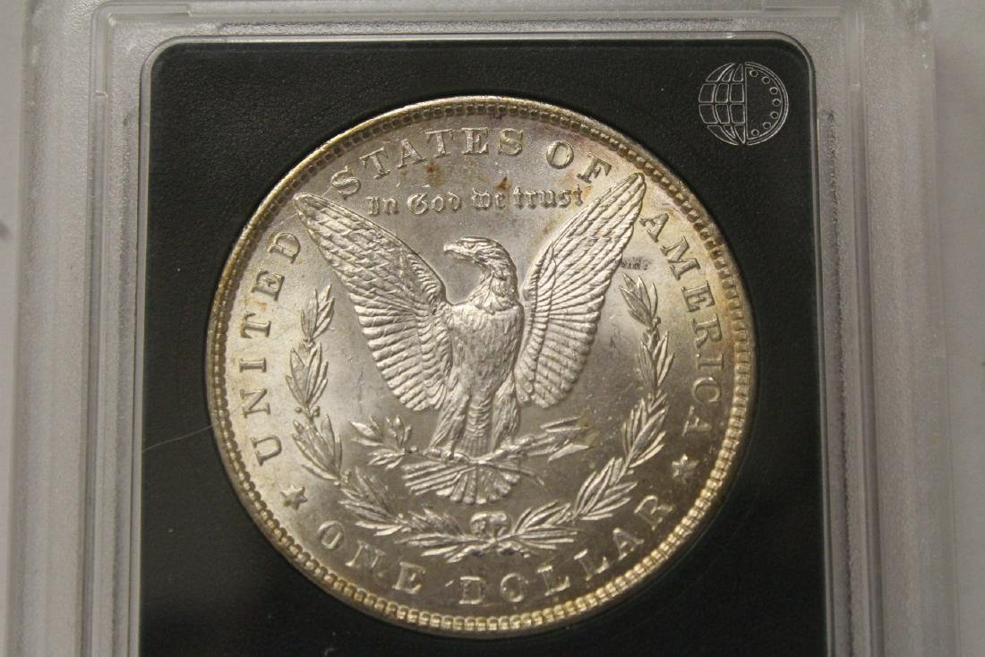 Beautiful 1897 Morgan silver dollar - 5
