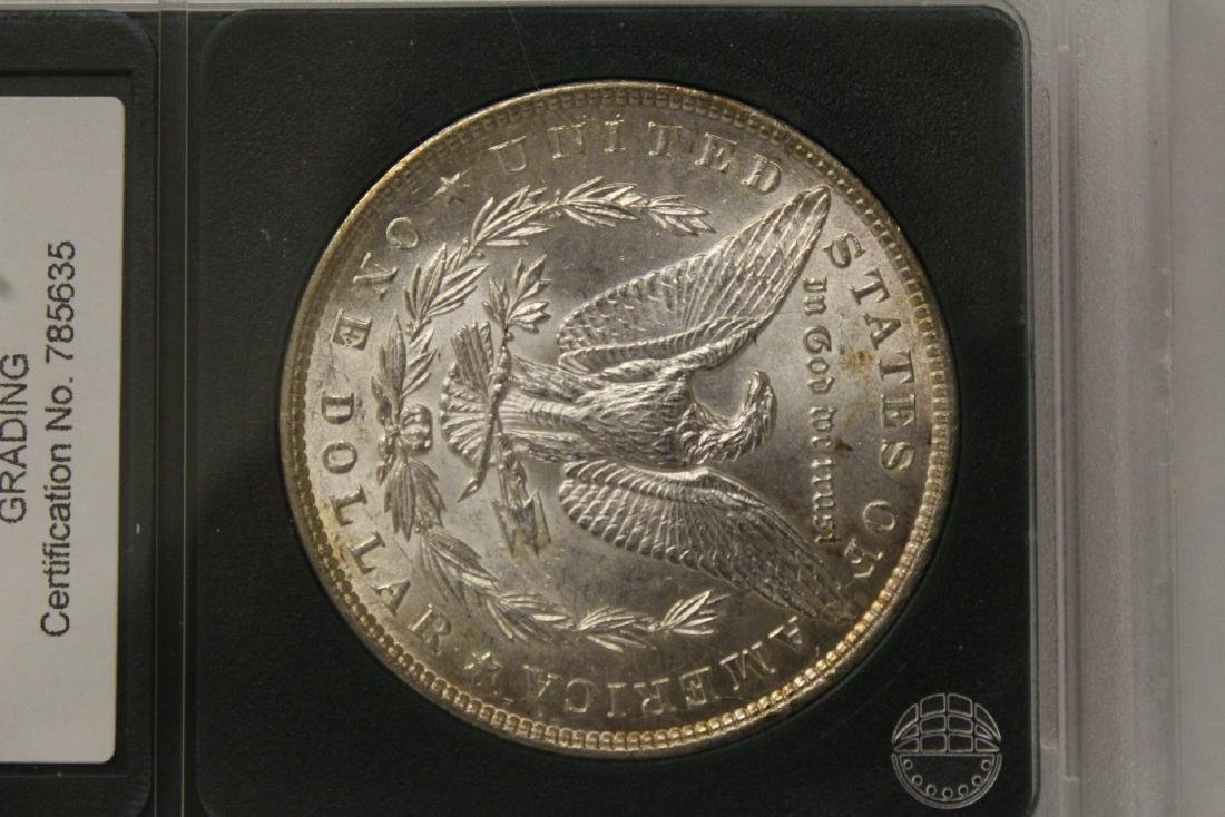 Beautiful 1897 Morgan silver dollar - 6
