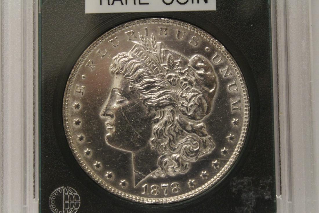 3 Morgan silver dollars & 3 rare date peace dollars - 4