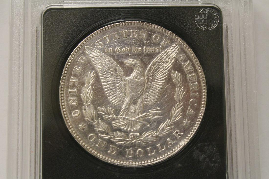 3 Morgan silver dollars & 3 rare date peace dollars - 5