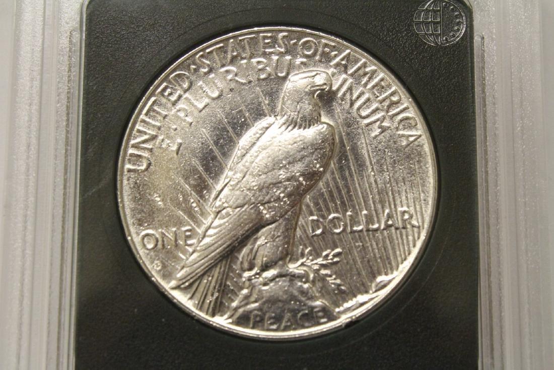 3 Morgan silver dollars & 3 rare date peace dollars - 7