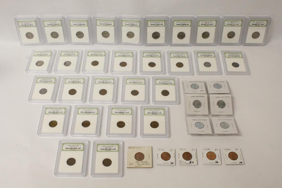40 circulated coins