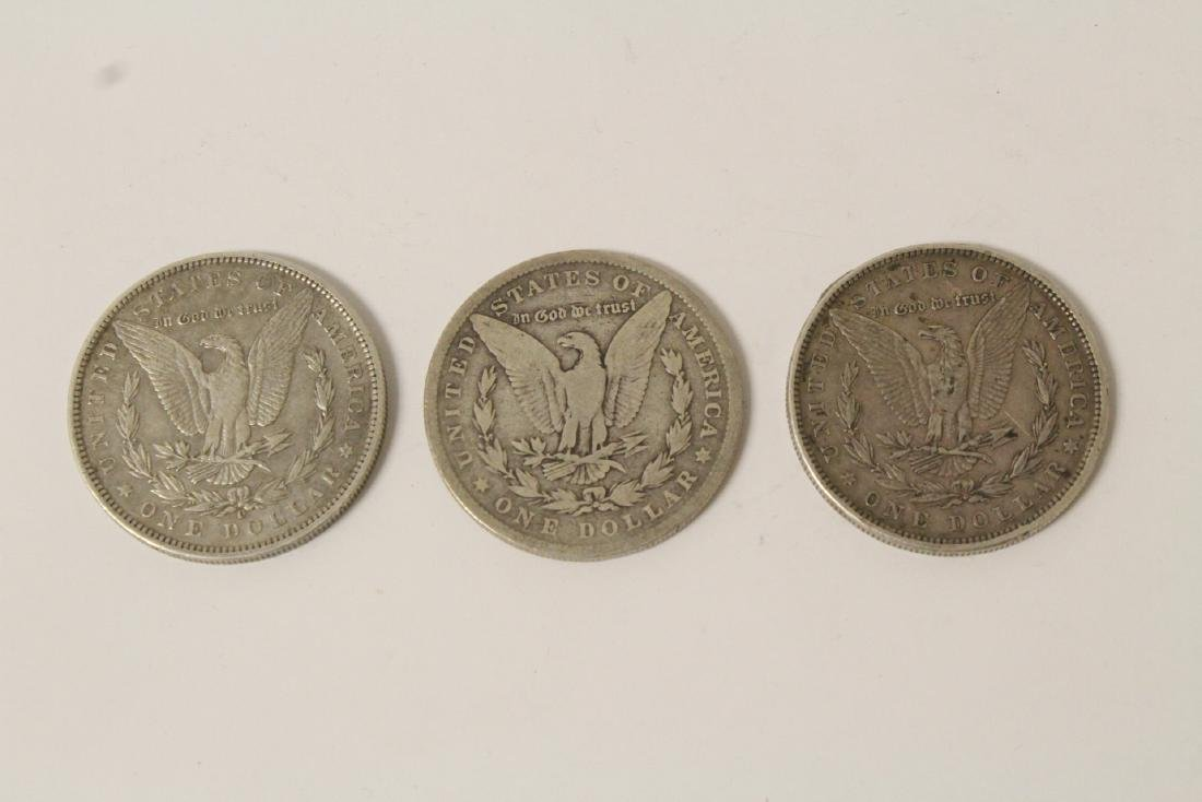 12 US silver dollars - 3