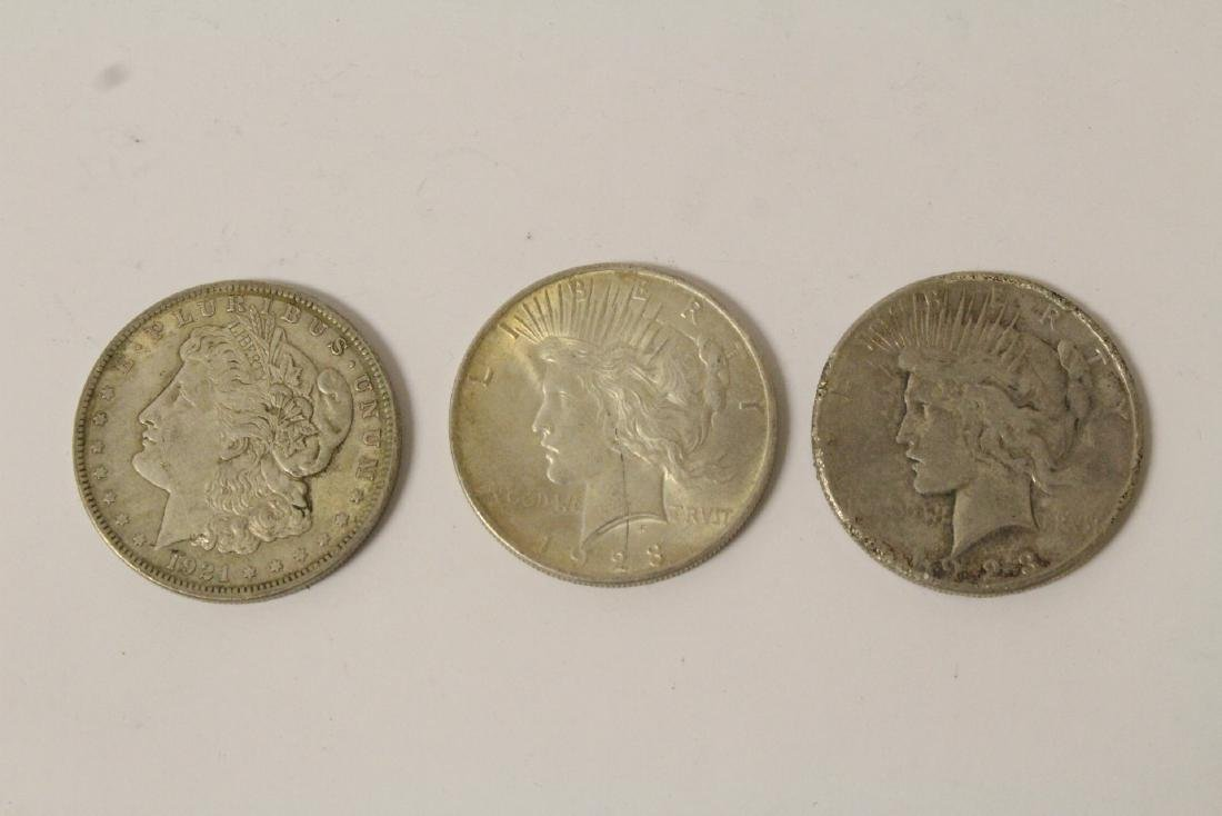 12 US silver dollars - 4