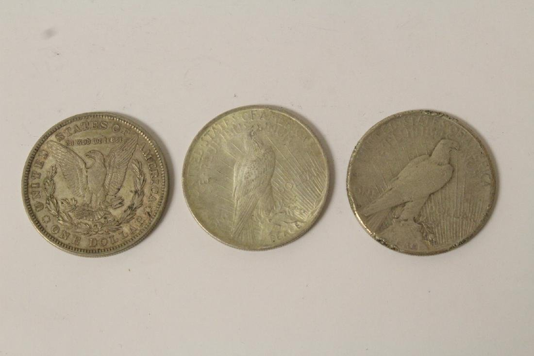 12 US silver dollars - 5