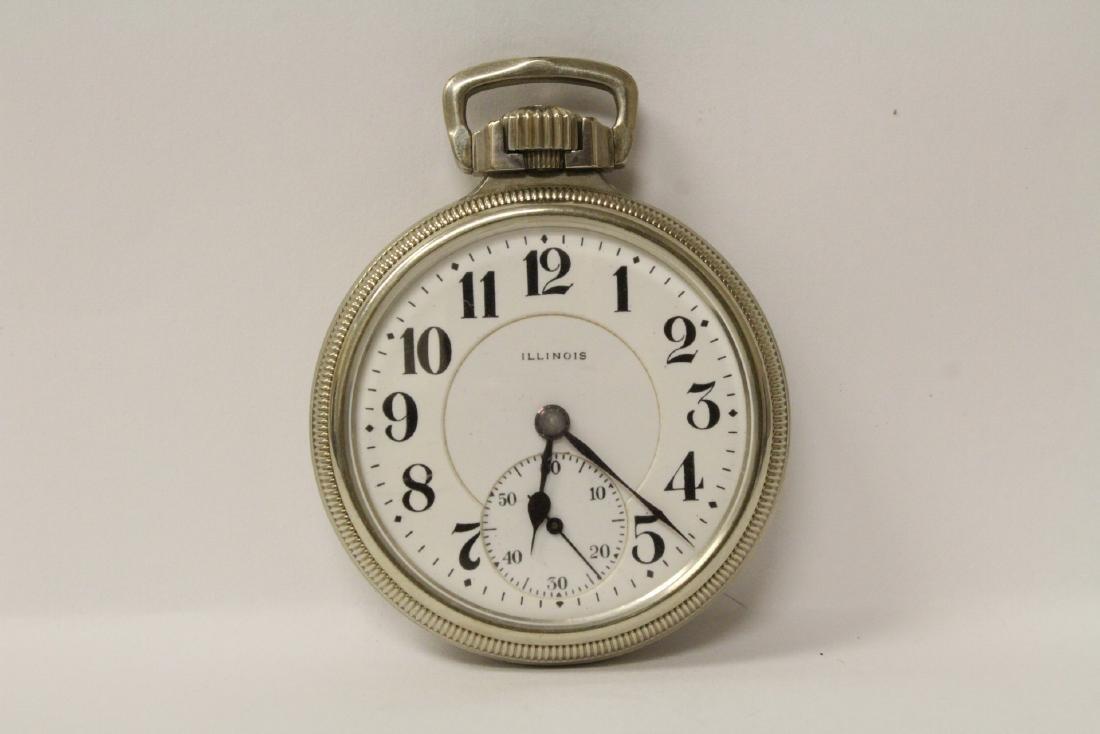 Illinois 23-jewel pocket watch, Sangamo special