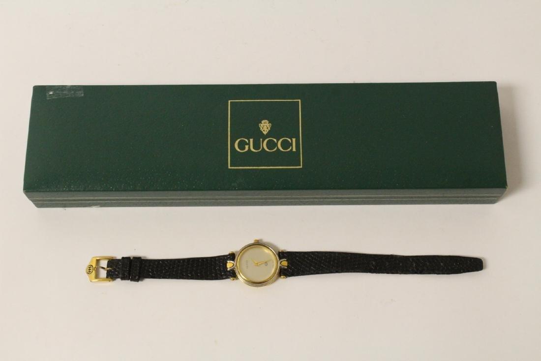 Gucci wrist watch with original band and box