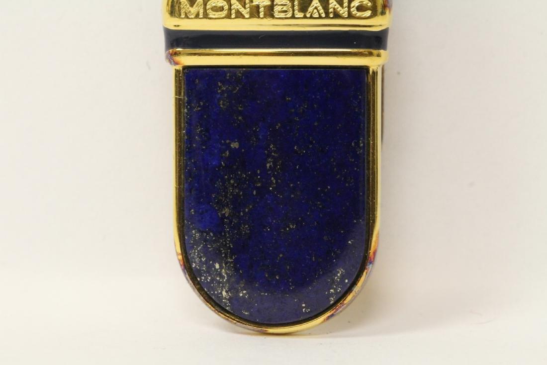 A Mont Blanc gilt silver money clip in original box - 3