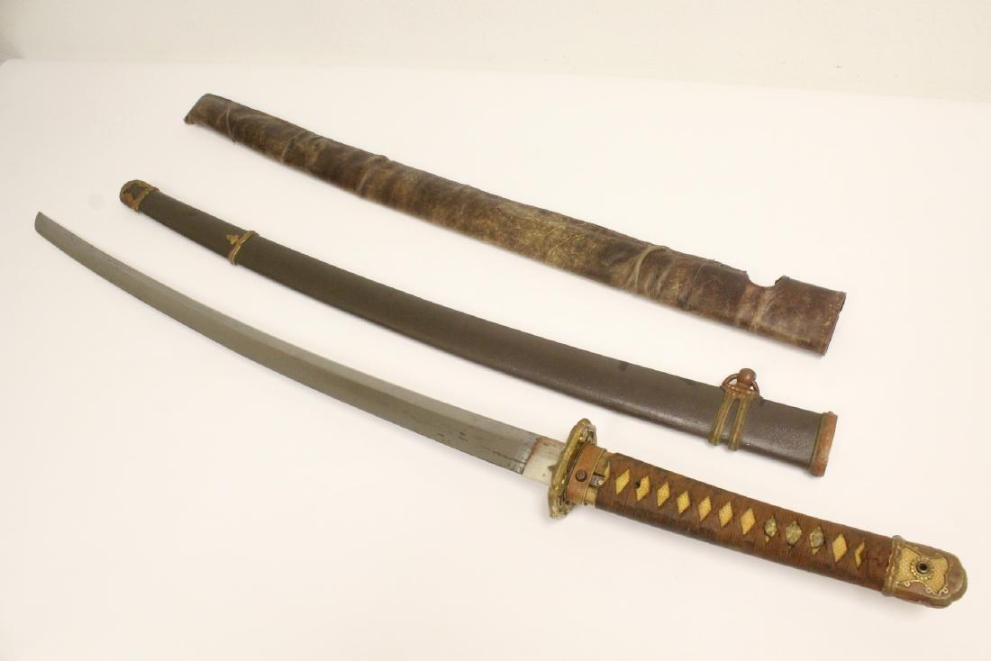 Japanese military mount Katana samurai sword