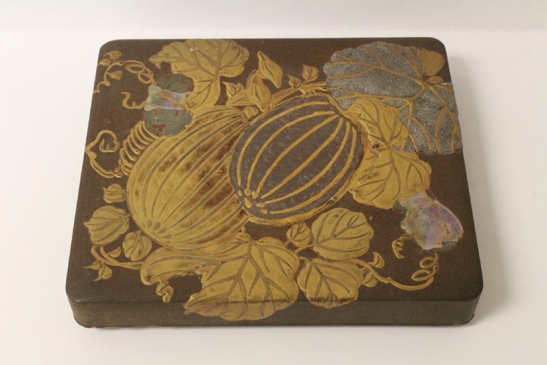 Japanese antique lacquer box
