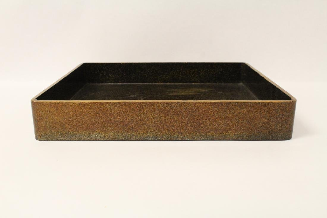 Japanese antique lacquer box - 4