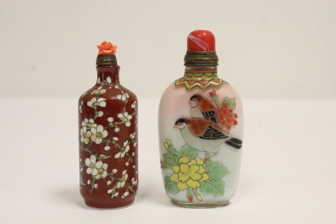 2 snuff bottles - 3