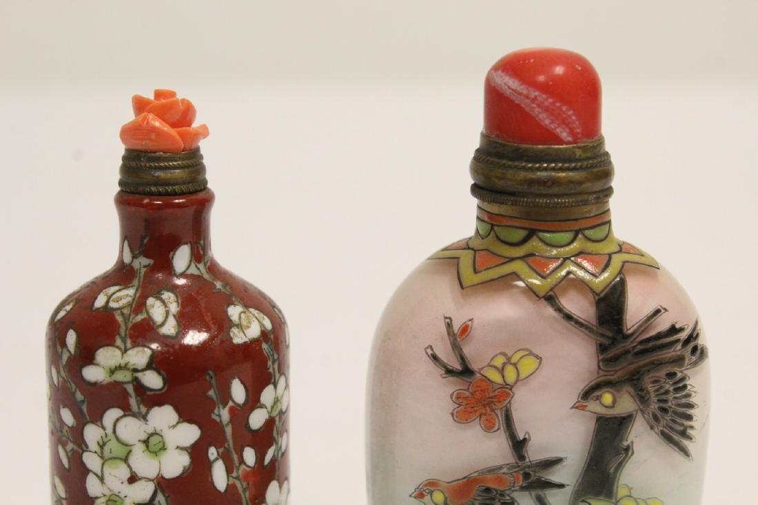 2 snuff bottles - 7