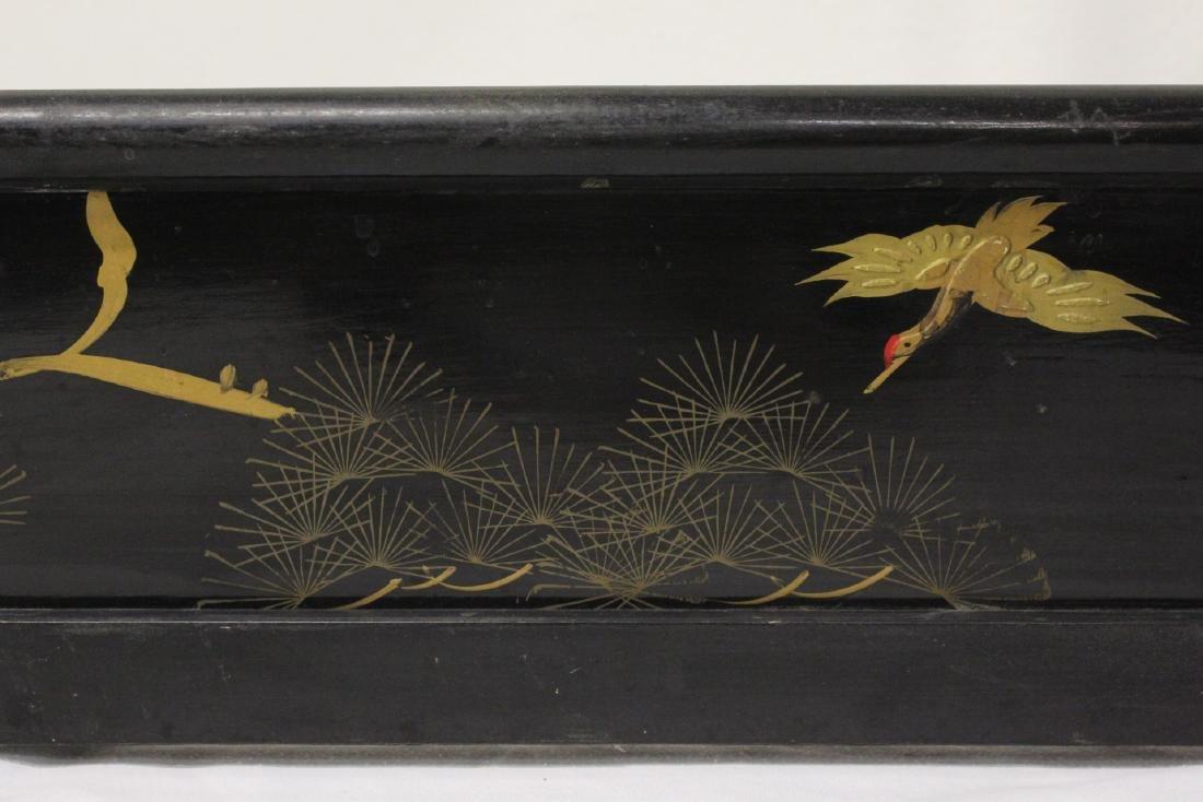 Japanese 19th century kimono stand - 6