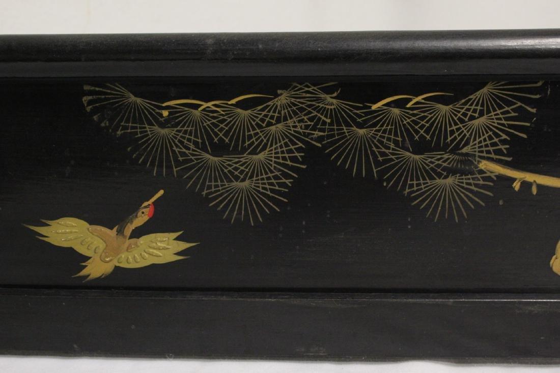Japanese 19th century kimono stand - 7