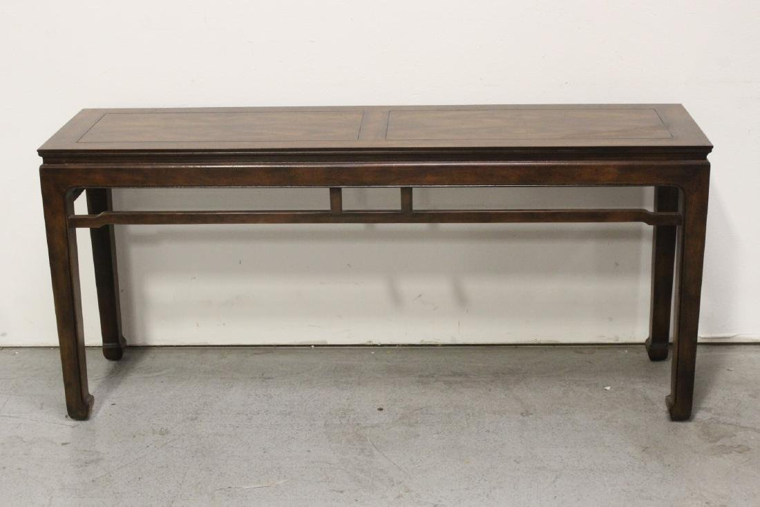 Chinese rosewood entry table - 10