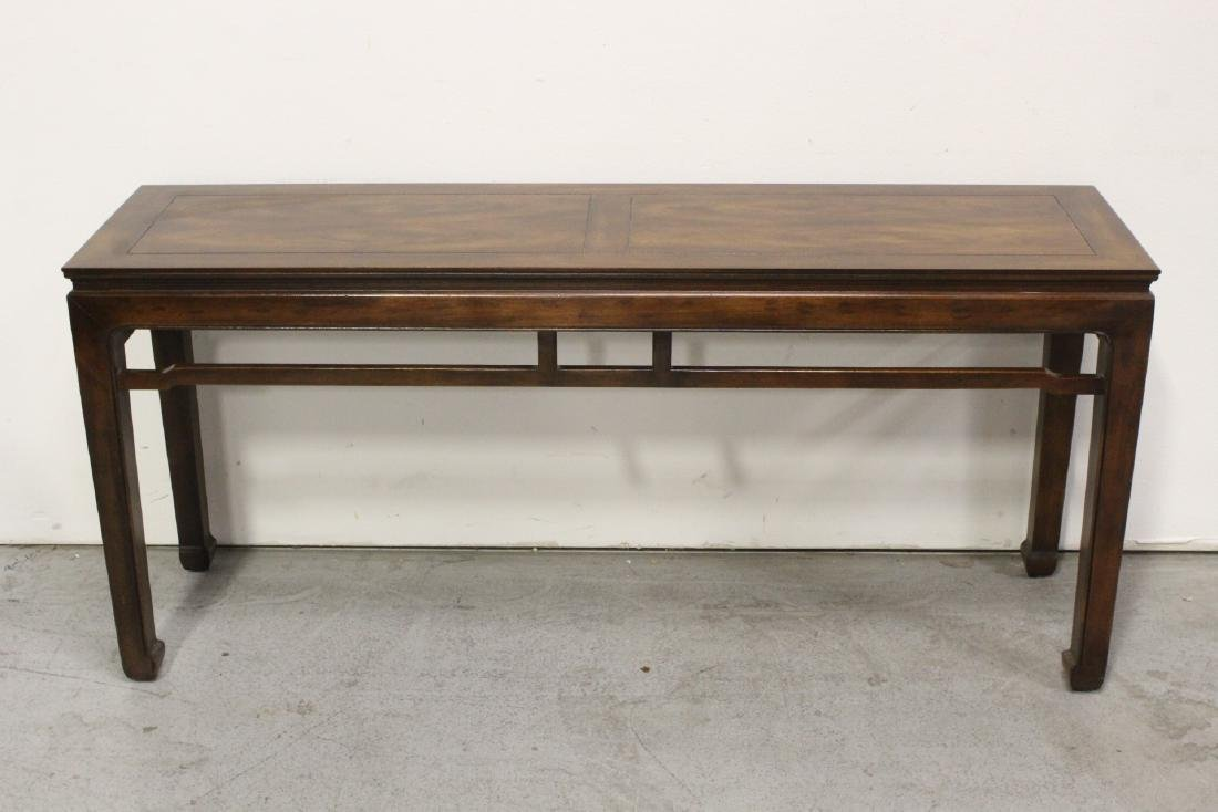 Chinese rosewood entry table