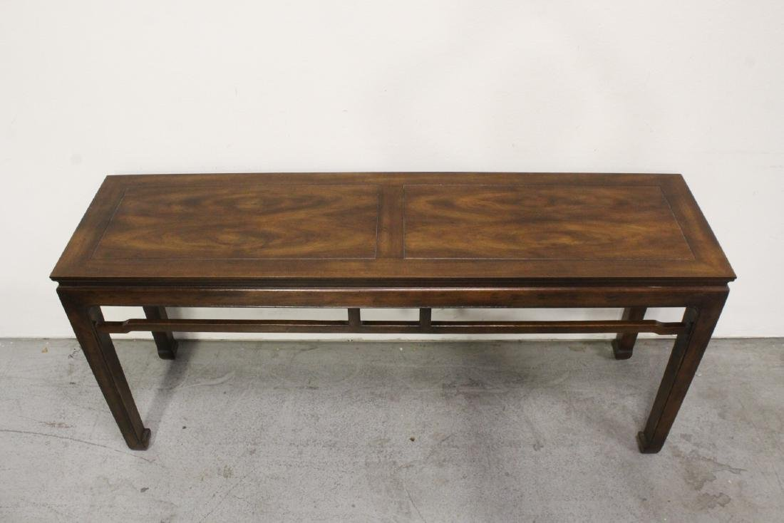 Chinese rosewood entry table - 2