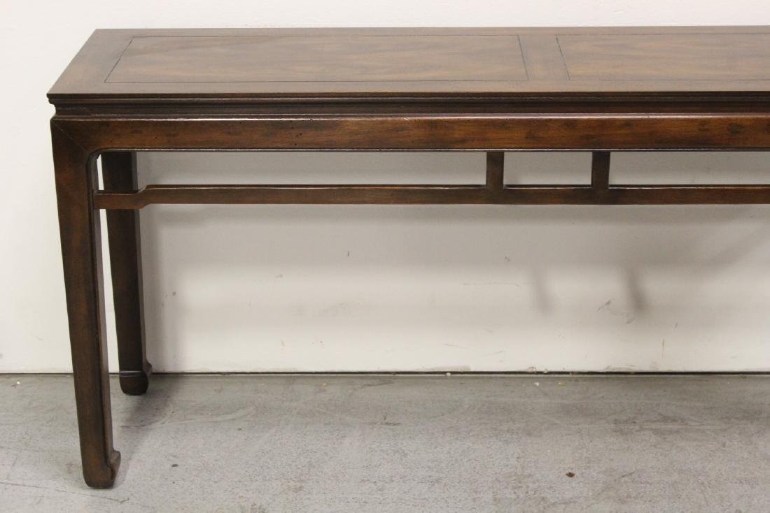 Chinese rosewood entry table - 3