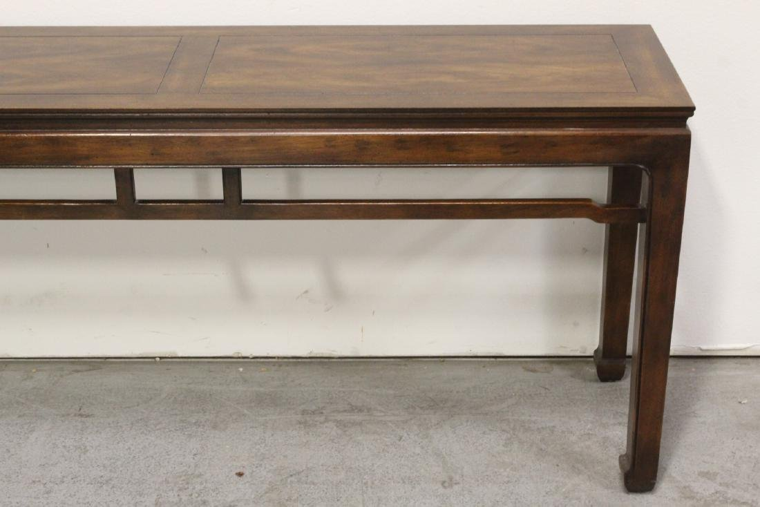 Chinese rosewood entry table - 4