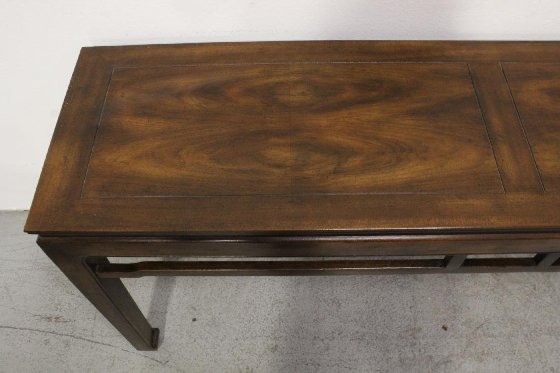 Chinese rosewood entry table - 5
