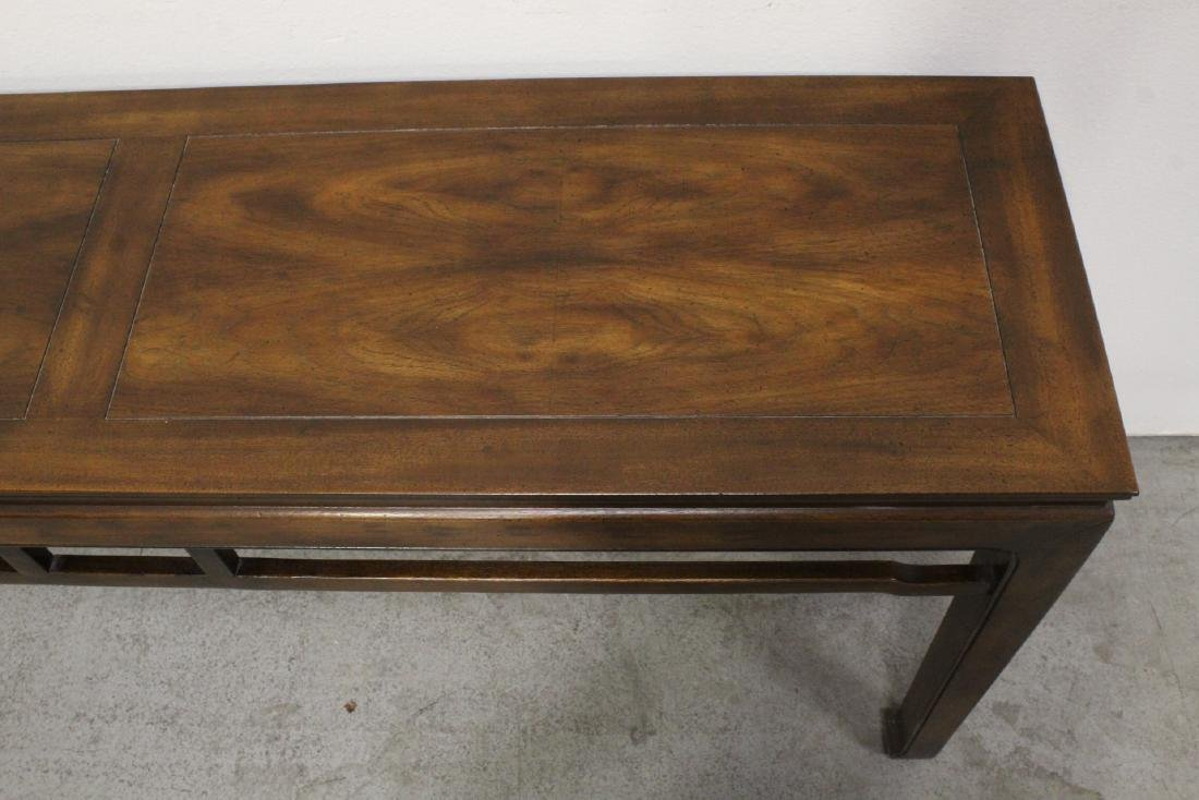 Chinese rosewood entry table - 6