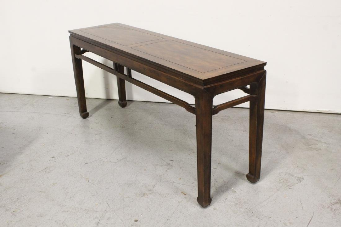 Chinese rosewood entry table - 7