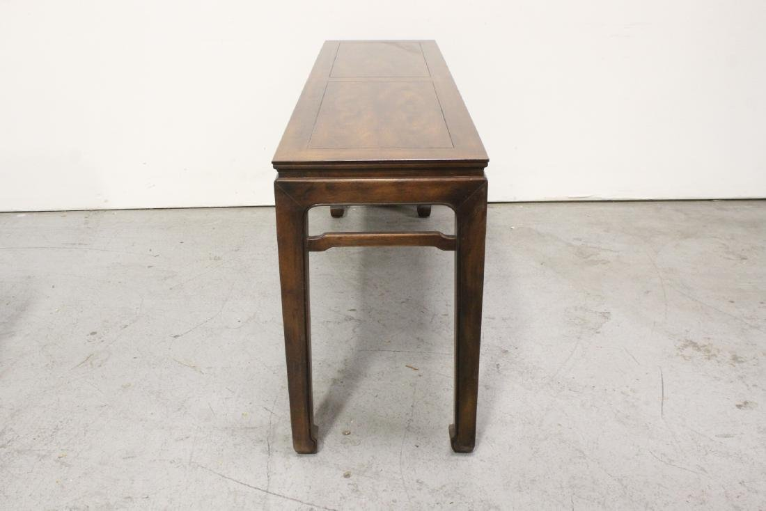 Chinese rosewood entry table - 8