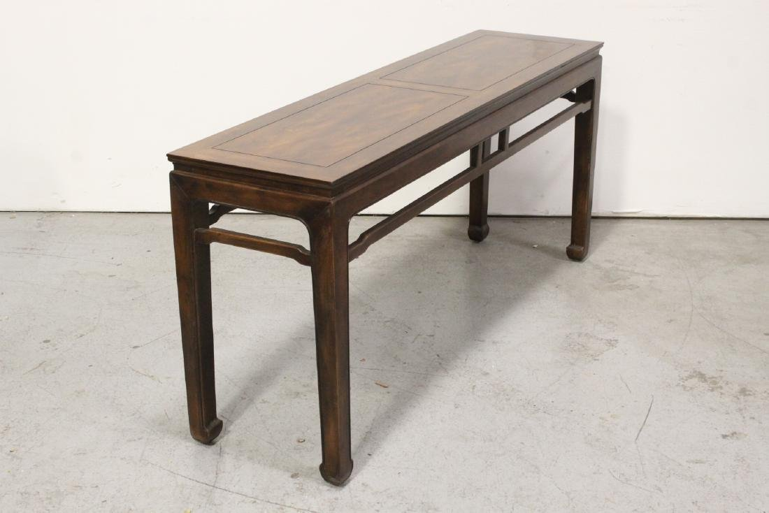 Chinese rosewood entry table - 9