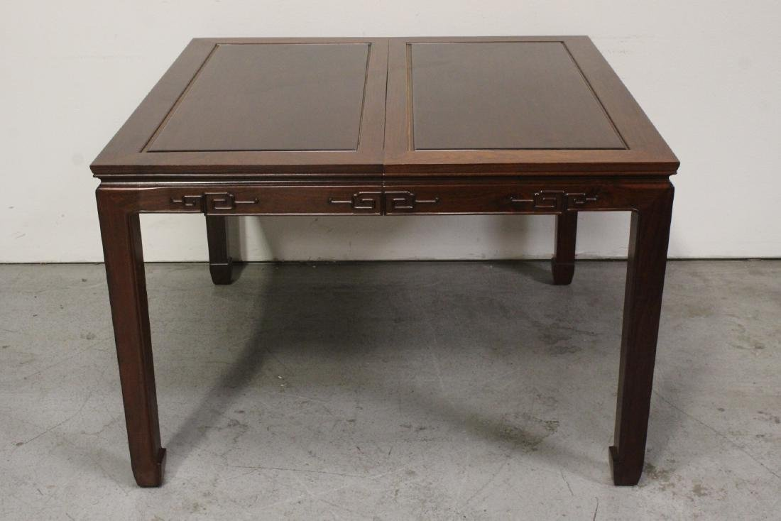 Very nice Chinese 5 piece rosewood dining set - 3