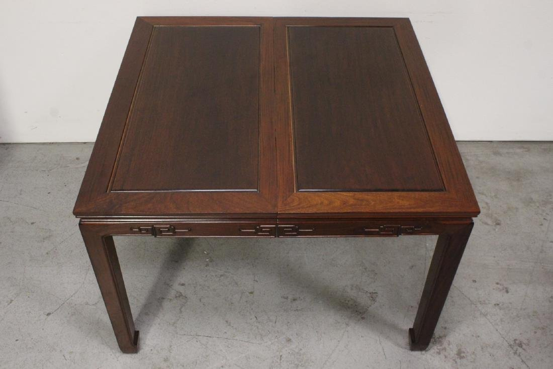 Very nice Chinese 5 piece rosewood dining set - 4