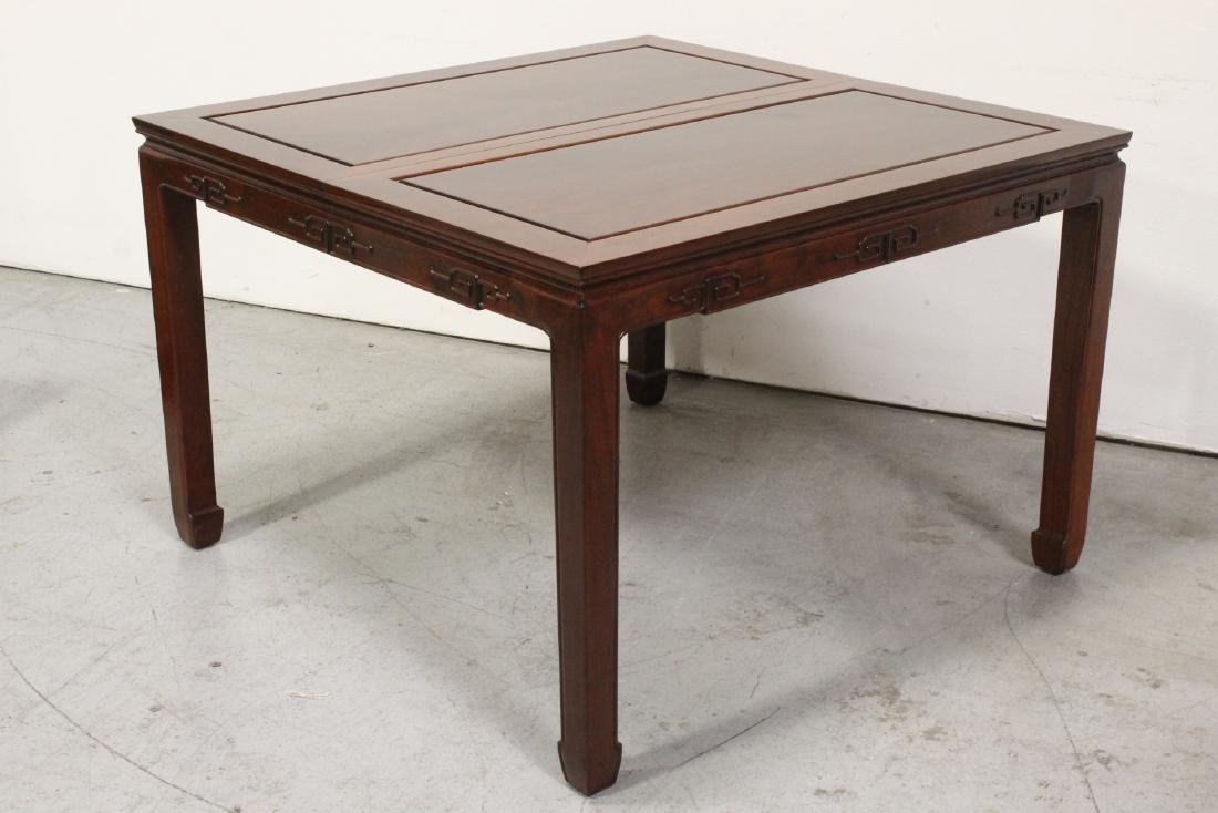 Very nice Chinese 5 piece rosewood dining set - 5