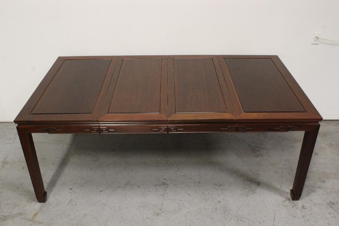 Very nice Chinese 5 piece rosewood dining set - 7