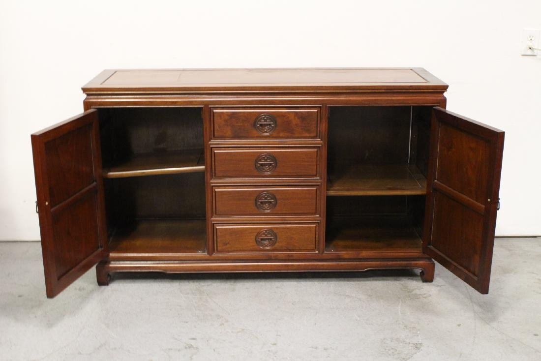 Fine Chinese rosewood cabinet - 3