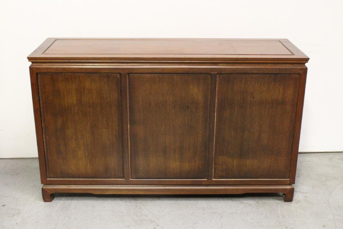 Fine Chinese rosewood cabinet - 8