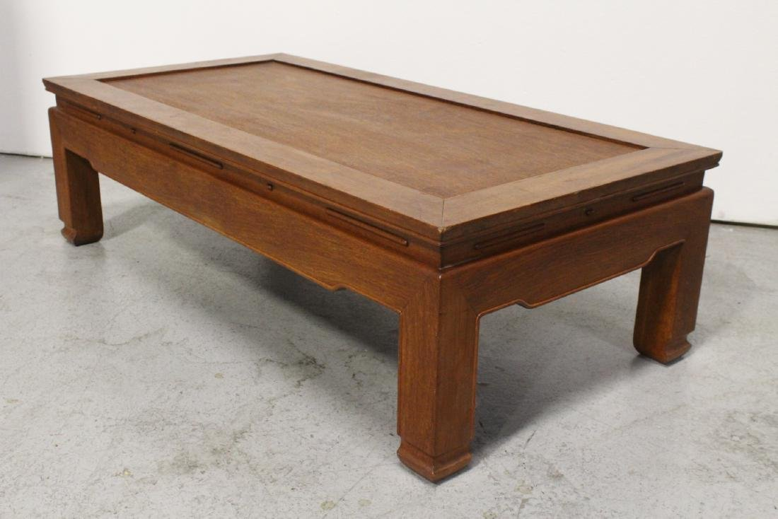 Chinese rosewood rectangular coffee table - 7
