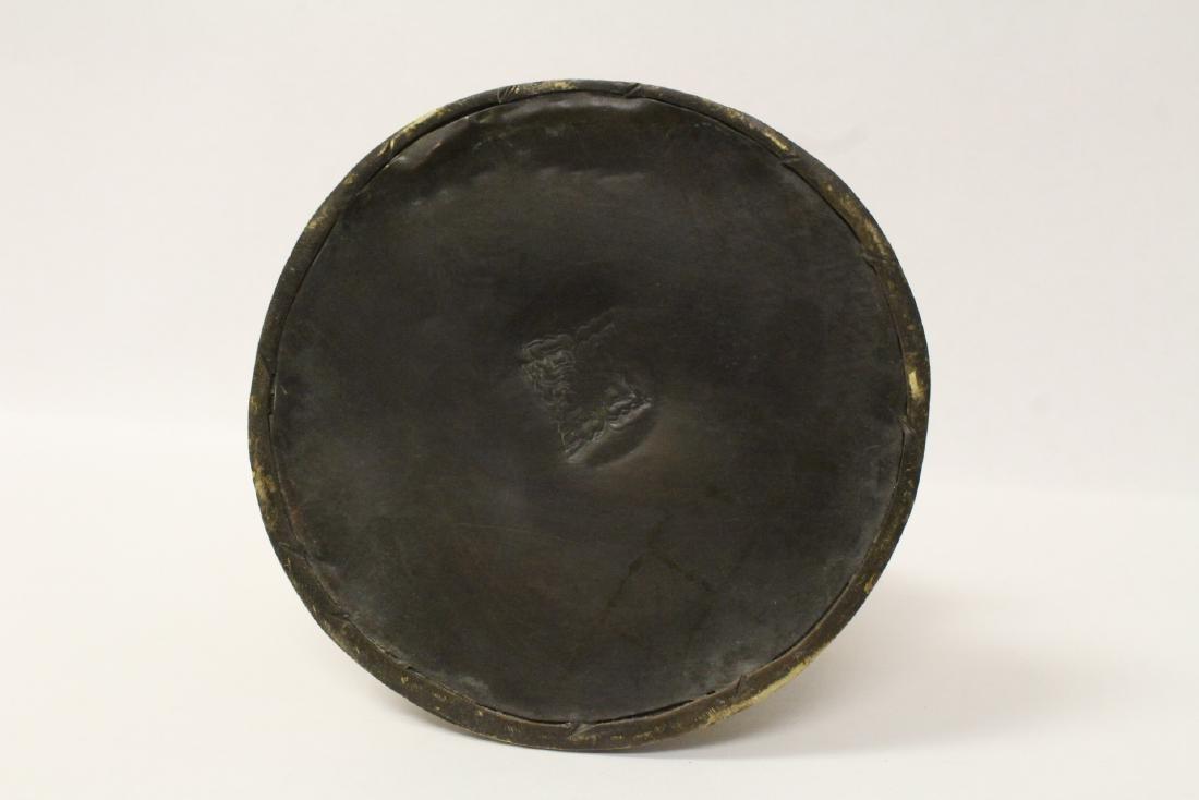 Chinese gilt bronze seated Buddha - 10