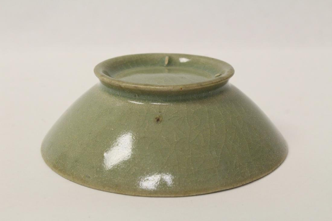 Chinese possible Song celadon bowl - 10