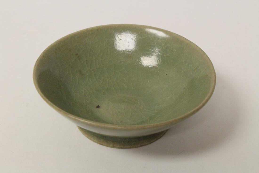 Chinese possible Song celadon bowl